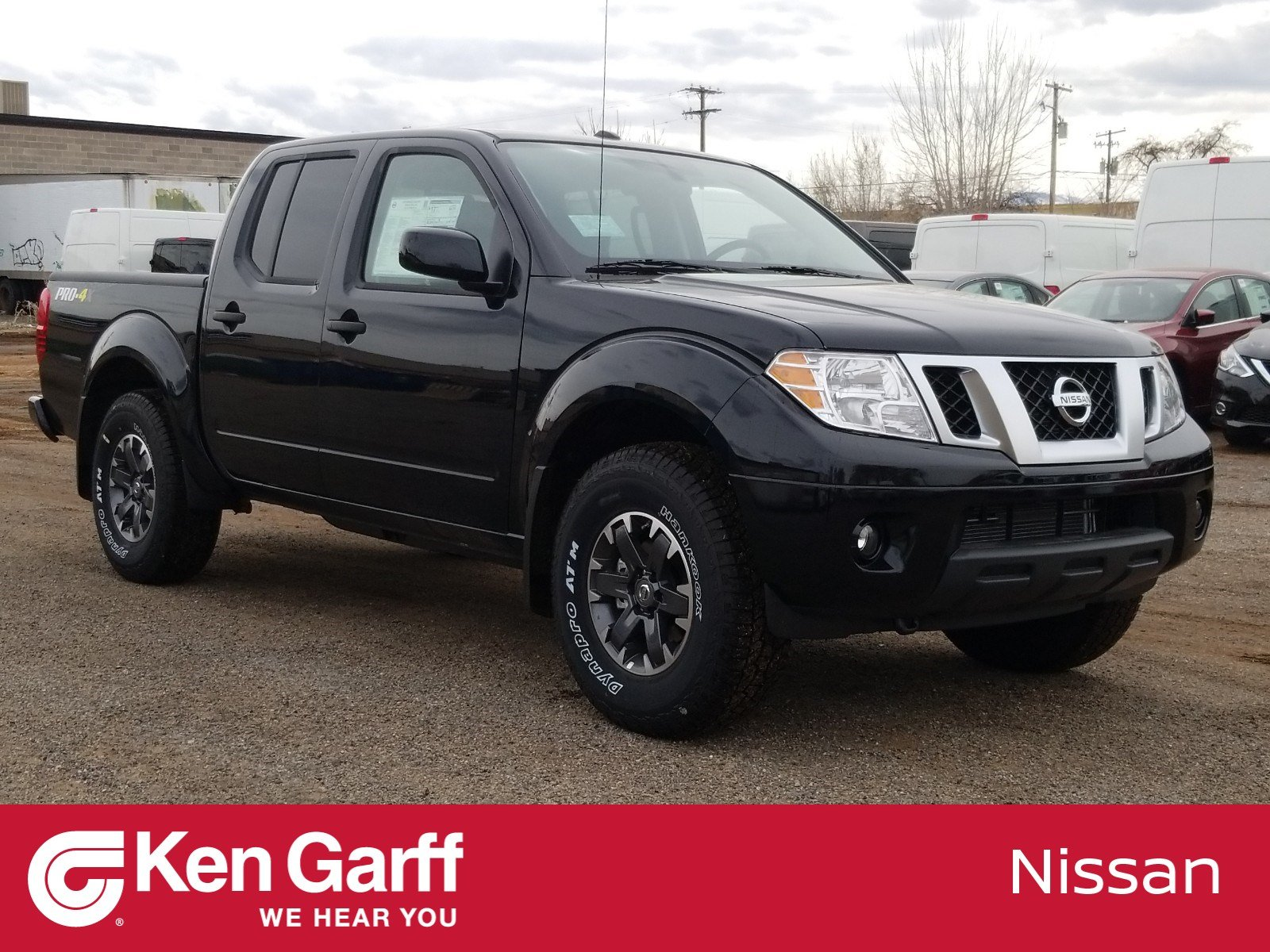 Frontier Pro 4x >> New 2019 Nissan Frontier Pro 4x 4wd Crew Cab Pickup
